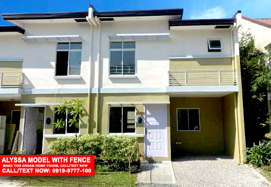 alyssa model with fence, new home, afforable house, rent to own, house and lot, house, house for sale, for sale, cavite, rent to own, dream home, home, lot, lot for sale, for sale, lancaster, lancaster new city, general trias, imus